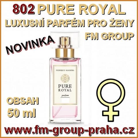 102505d235 802 FM PURE ROYAL LUXUSNÍ PARFÉM PRO ŽENY